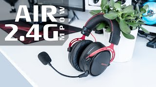 MPOW Air 2.4G Wireless Gaming Headset Review and Mic Test