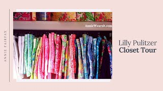 Lilly Pulitzer Preppy Summer Closet Tour