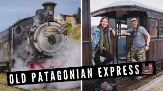 The OLD PATAGONIAN EXPRESS: Epic STEAM TRAIN Ride in Patagonia, Argentina 🚂