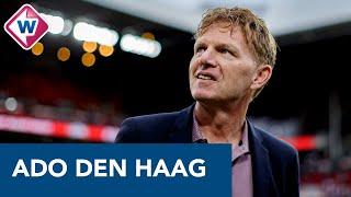 Fons Groenendijk blikt vooruit op de wedstrijd ADO Den Haag - VVV: 'Ideale formatie nog niet gezien'
