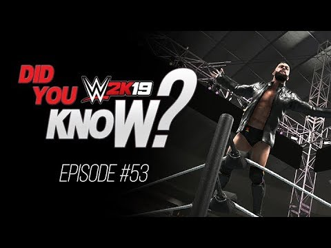WWE 2K19 Did You Know? Handicap Title Matches, Japanese Differences & More! (Episode 53)