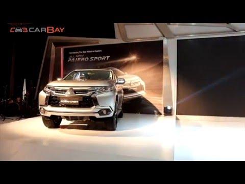 Mitsubishi Pajero Sport 2016 Launch