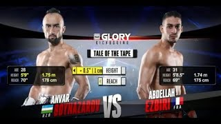 GLORY 47 Lyon: Anvar Boynazarov vs. Abdellah Ezbiri (Tournament Finals) - FULL FIGHT