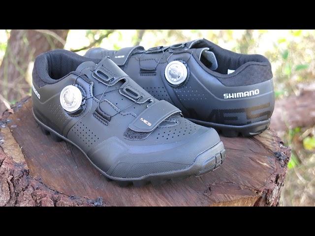 Видео Велотуфли Shimano SH-ME502ML черные