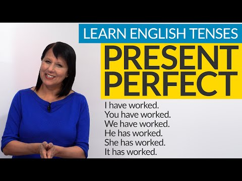Learn English Tenses: PRESENT PERFECT