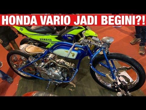 Ada Honda Vario Board Tracker, dan Motor2 Custom Gila di Suryanation Motorland Battle 2019 Makassar