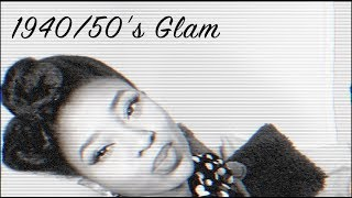 Hair Tutorial & Review | Black Pin-up Girl- 40s/50s Glam