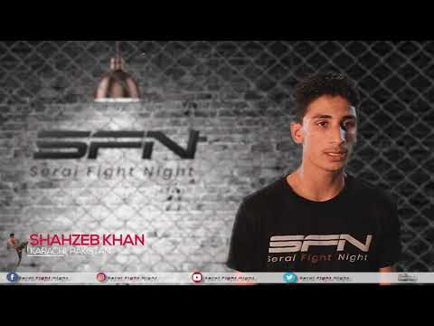 Shahzeb | Exclusive Interview | Zalmi TV presents Serai Fight Night 2019 | MMA