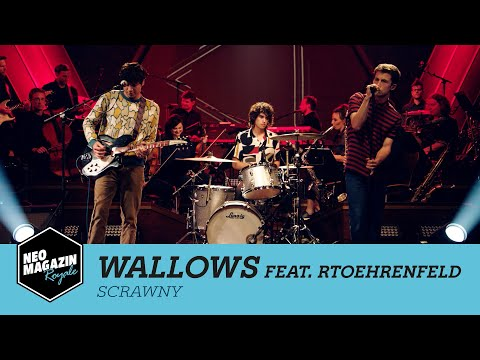 "Wallows feat. RTOEhrenfeld - ""Scrawny"" | Neo Magazin Royale in Concert - ZDFneo"