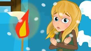 Девочка со спичками - Мультфильм - сказки для детей - сказка