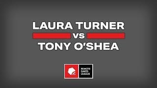 REPLAY | Laura Turner vs Tony O'Shea 🎯 Remote Darts League