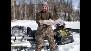 Рыбалка тыва зимой