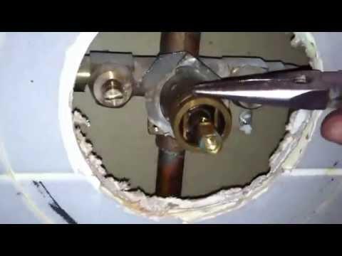 Moen 1225 cartridge replacement on shower valve