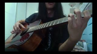 Dissection - Infinite Obscurity Intro (Guitar Cover)
