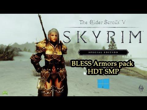 Bless outfit set - CBBE Bodyslide - смотреть онлайн на Hah Life