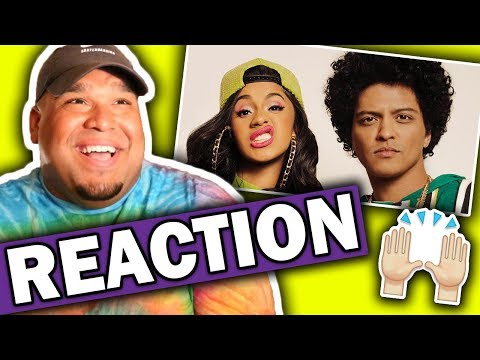 Bruno Mars ft. Cardi B - Finesse (Remix) Music Video [REACTION]