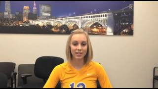 Stephanie Williams 2014 Volleyball Player of the Year