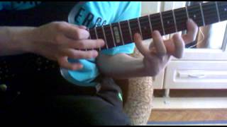 DragonForce - Three Hammers (tapping solo)