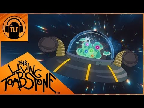 Goodbye Moonmen- Rick and Morty Remix- The Living Tombstone