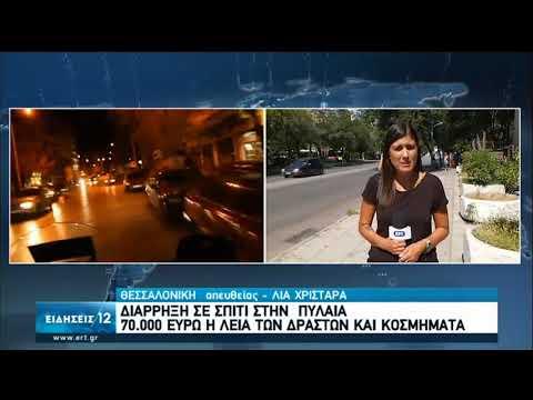 Θεσσαλονίκη  | Διάρρηξη σε σπίτι στην Πυλαία | 07/09/2020 | ΕΡΤ