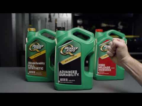 Hands On with Quaker State: Grab the Green Bottle