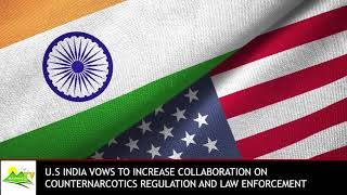 USA & India on narcotics control