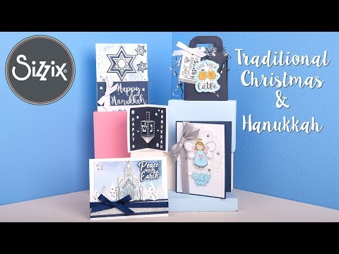 Traditional Christmas & Hanukkah | Sizzix