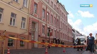 В Гродно заминировали здание