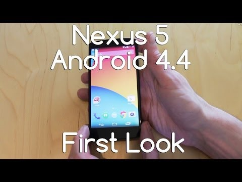 Nexus 5 Hardware and Software Android 4.4 First look