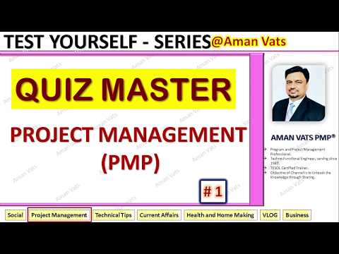 [Quiz # 1 ] - Questions - Answers for PMP Aspirants ... - YouTube