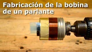 Fabricación de la bobina de un parlante (make voice coil)