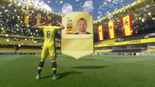 FIFA 17 FIRST PACK INIESTA WALKOUT???
