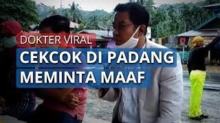 Dokter Viral Cekcok dengan TNI dan Polisi karena Tidak Bawa KTP, Minta Maaf