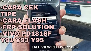 Vivo Y11 Flashing Error