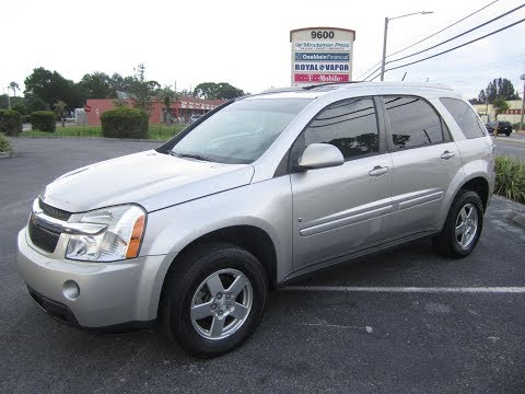 SOLD 2008 Chevrolet Equinox LT 96K Miles One Owner Meticulous Motors Inc Florida For Sale Mp3