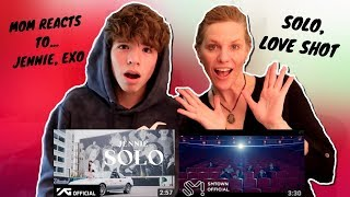 Download MOM REACTS TO KPOP FOR THE FIRST TIME!! (JENNIE - SOLO, EXO