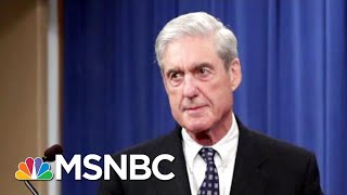 Robert Mueller Spoke. And His Message Couldn't Have Been Clearer.   Deadline   MSNBC