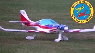 preview picture of video 'Lancair 360/MK2 - CMPro - 1550mm - 9,95ccm 4-Takt - MSG Stiftland - Andy HD'