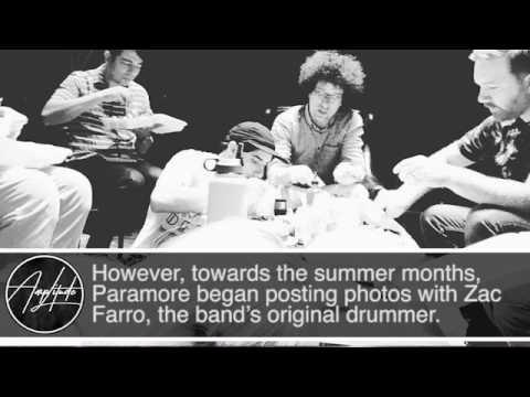 PARAMORE'S ZAC FARRO RETURNS
