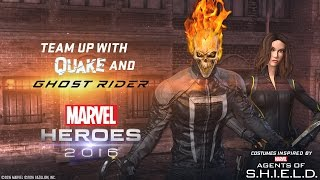 Team Up With Quake and Ghost Rider! Inspired by Marvel's Agents of S.H.I.E.L.D.
