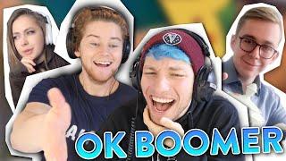 Die lustigsten/kreativsten OK Boomer Memes😅 - Mit TJ