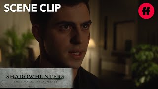 Shadowhunters | Season 2, Episode 9: Alec Punches Raphael | Freeform