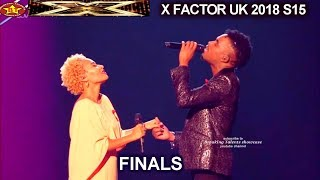 "Dalton Harris and Emeli Sande Duet ""Beneath Your Beautiful"" Family Interview| Final X Factor UK 2018"