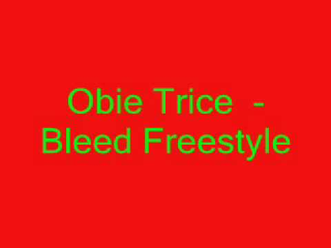 Obie Trice Bleed Freestyle