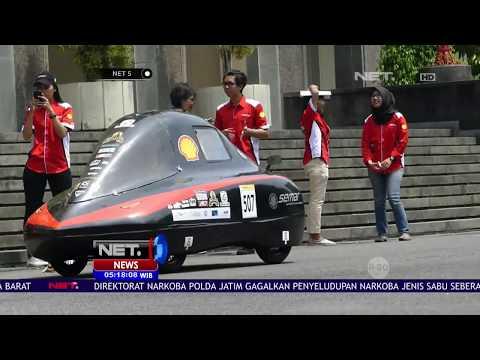 Mobil Semar Buatan Mahasiswa UGM Menang Di Perlombaan Tingkat Asean -NET5
