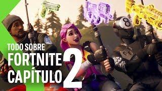 Fortnite Capítulo 2: TODAS las NOVEDADES | Un NUEVO comienzo
