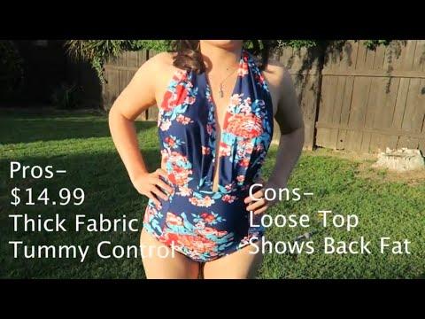 Amazon Bathing Suit Haul / Review- Under $20.00