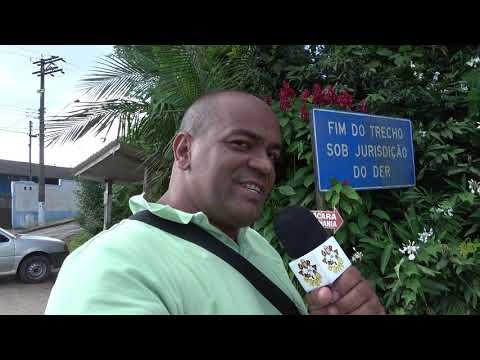 Motoniveladora do Der começa a trabalhar na SPA 070/230 Estrada Velha de Juquitiba