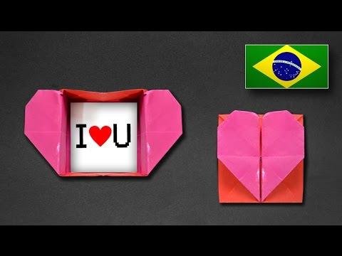 Caixa Envelope de Coração