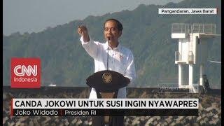 Lucu! Bergaya bak Presiden, Menteri Susi Kena Sindir Jokowi